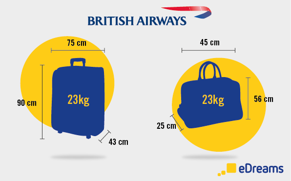 equipaje medidas British Airways