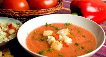 El gazpacho, una sopa que no puede faltar en los meses de buen tiempo