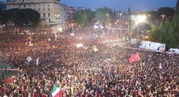 Celebra el Día del Trabajador en el concierto del Primo Maggio en Roma