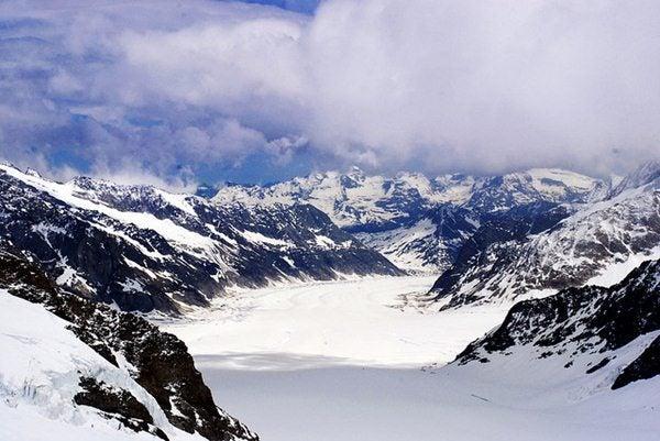 Glaciar Aletsch, Suiça
