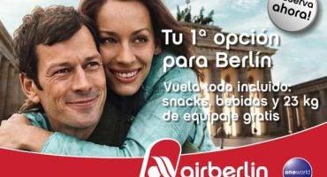 ¿Quieres viajar? Con airberlin vuela desde España a todo el mundo