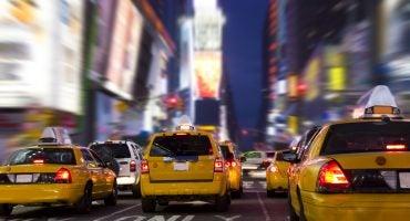 Verde que te quiero verde, el nuevo color de los taxis en Nueva York