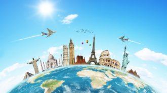 volar y viajar