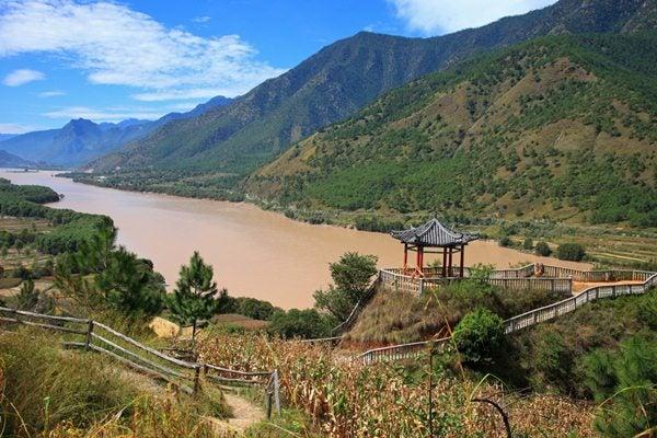 Bacia do Rio Azul ou Rio Yangtsé