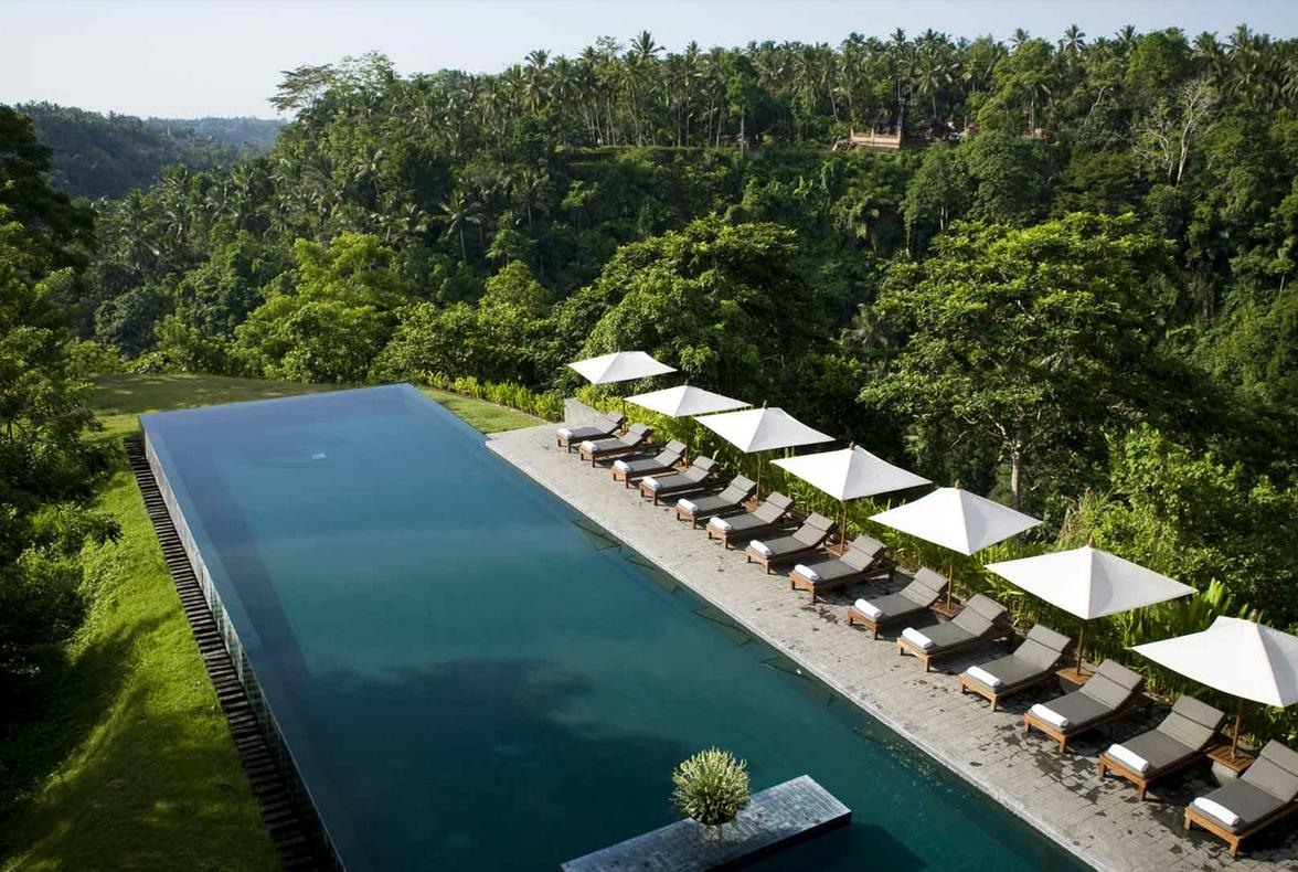 Piscinas Infinitas. Indonesia (Hotel Alila)