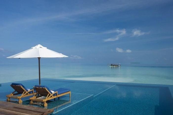 Piscinas Infinitas. Isla Rangali , Maldivas