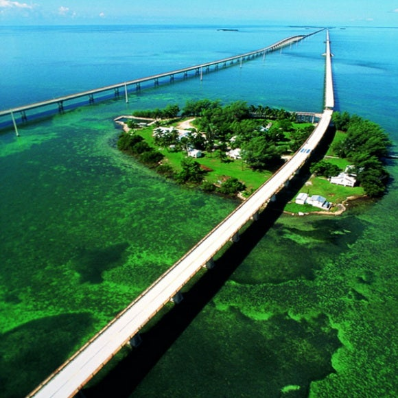 15 carreteras panorámicas para un road trip. The Overseas Highway Florida