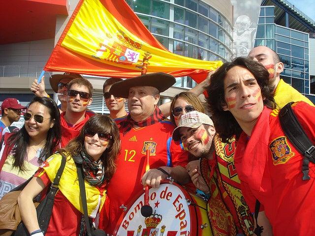 afición España Eurocopa
