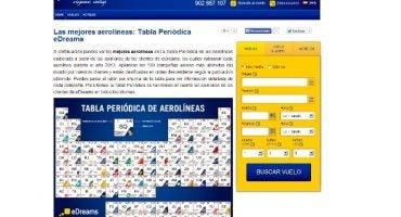 eDreams publica el ranking de las 100 mejores aerolíneas del mundo