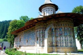 monasterio de Voronet, Rumanía