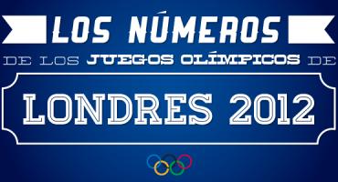 Los números de los Juegos Olímpicos de Londres 2012
