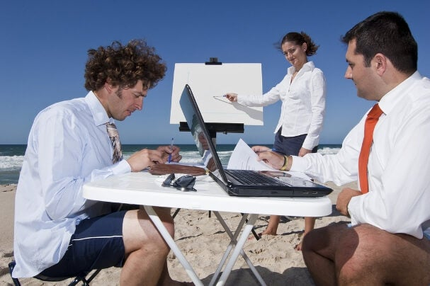 desconectar del trabajo en vacaciones