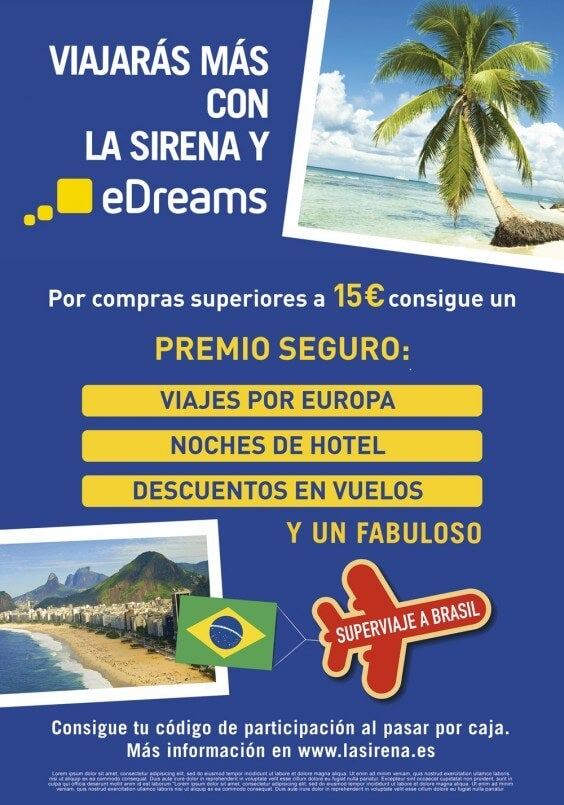 La Sirena y eDreams
