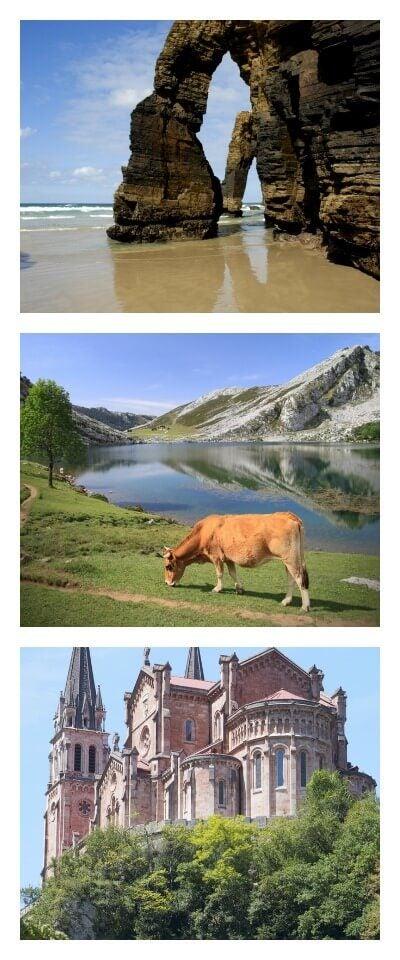 lugares que ver en Asturias