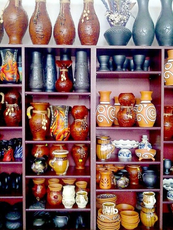 ceramicas de Marginea