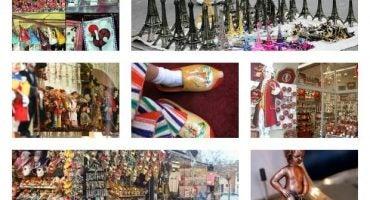 Recorre Europa a través de 9 souvenirs