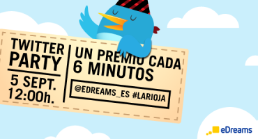 ¡Twitter Party #laRioja! Regalamos un premio cada 6 minutos