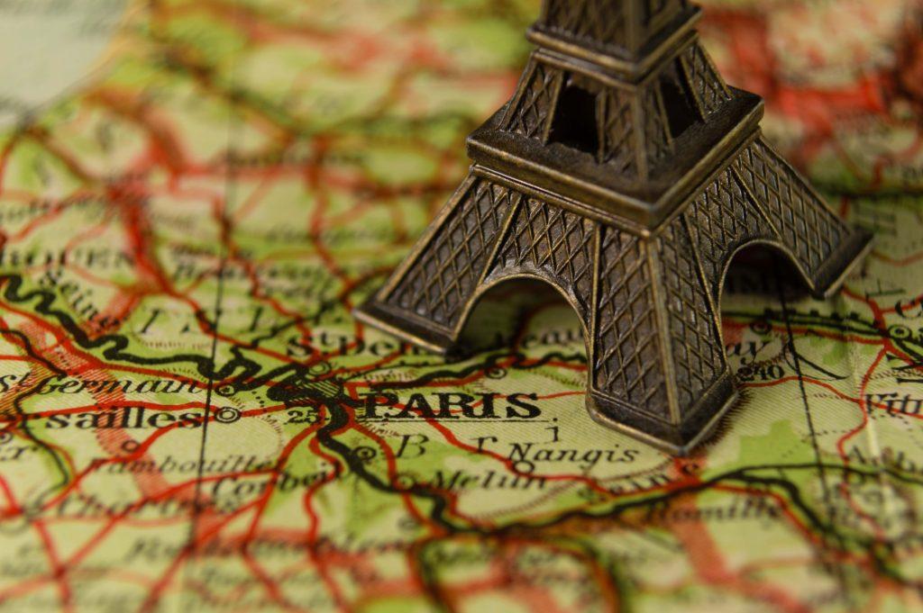 Miniatura de la Torre Eiffel París