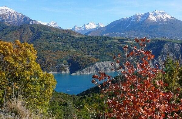 alpi francesi autunno