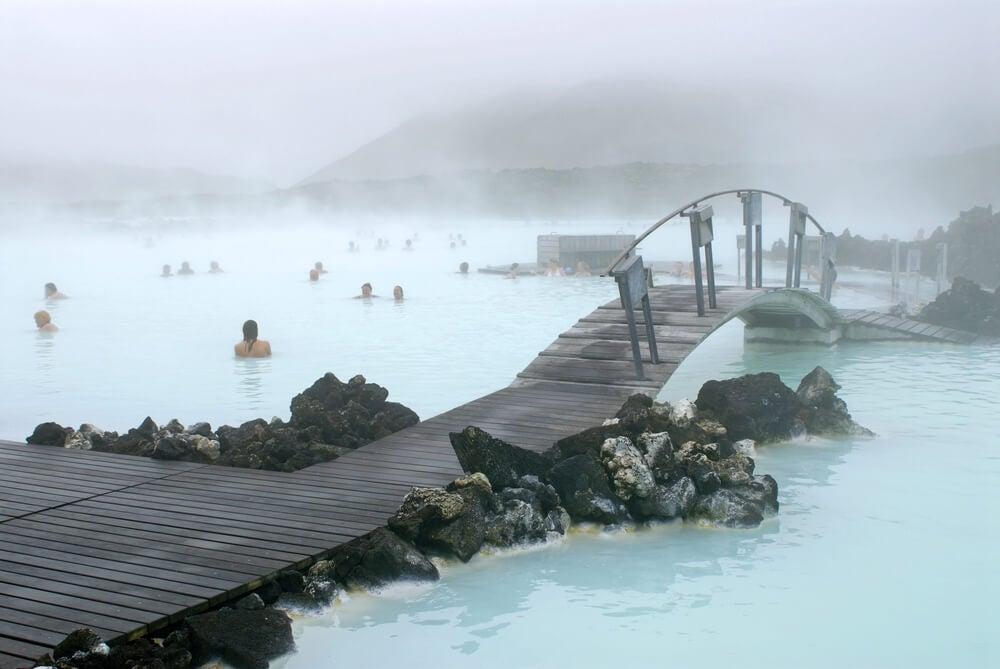 Lago Azul, Islandia