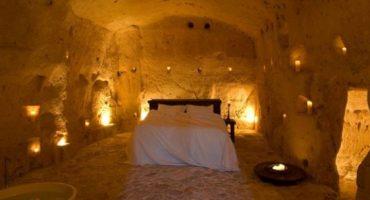 Hoteles construidos en cuevas
