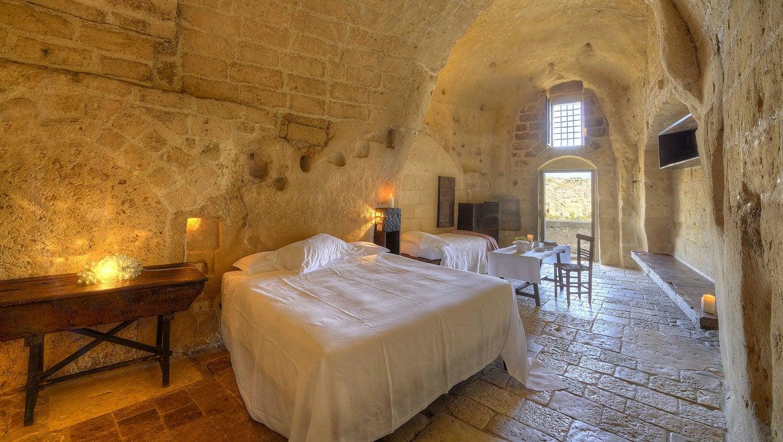 Cueva de Le Grotte della Civita en Matera