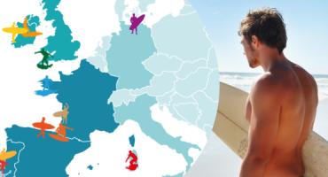 Las 15 mejores playas de Europa para hacer surf