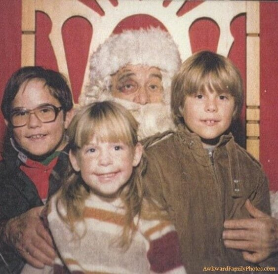 Fotos raras Navidad