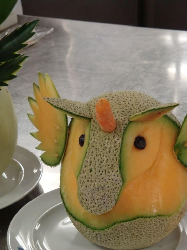 buhos hechox con melón