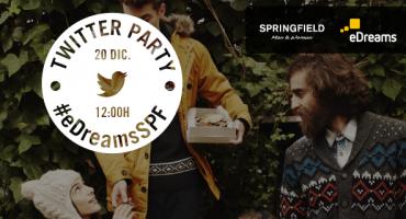 Esta navidad tendrás regalo: ¡Nueva Twitter Party! #eDreamsSPF