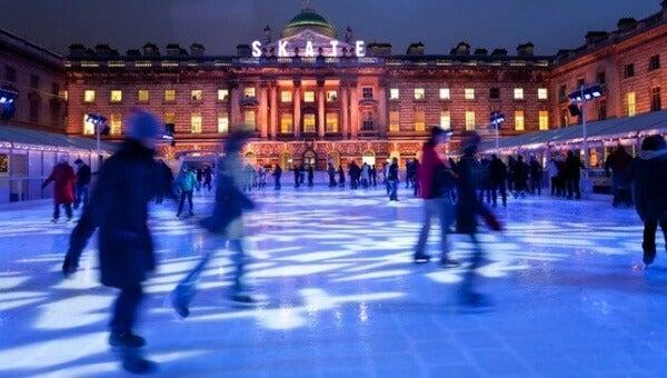 pistas patinaje sobre hielo