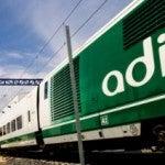 El AVE llegará a Gerona a principios de enero