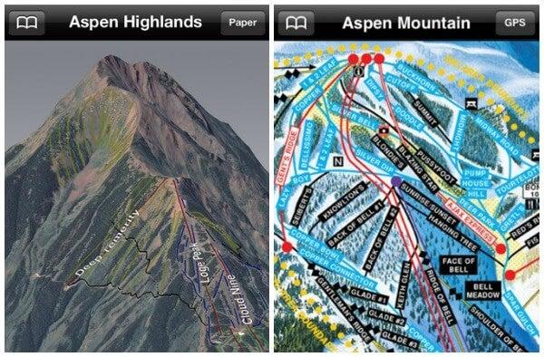 app movil esqui