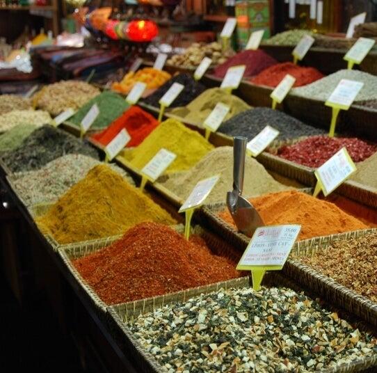 Estambul - bazar especias