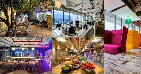 La nueva oficina de google en tel aviv blog de viajes for Oficinas edreams barcelona