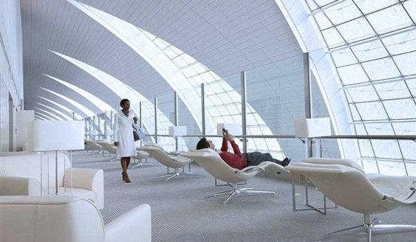 aeropuerto de Dubai. Emirates