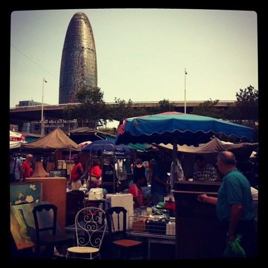 30 actividades que hacer si visitas Barcelona. Mercado dels Encants