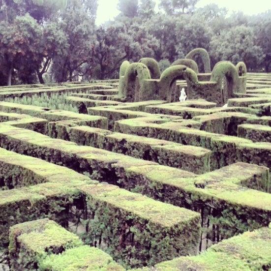 30 actividades que hacer si visitas Barcelona. Laberinto horta