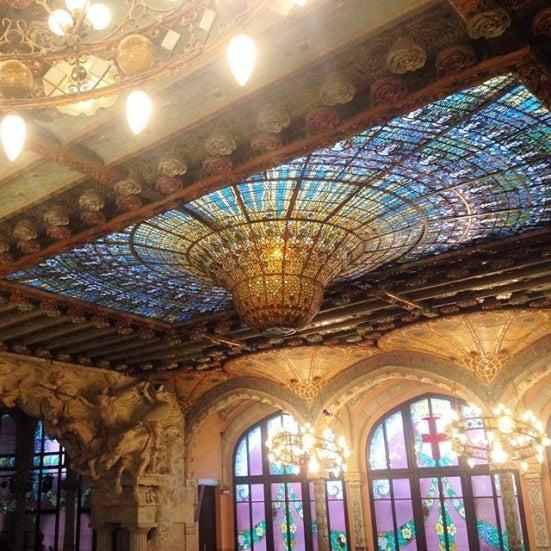 30 actividades que hacer si visitas Barcelona. palau de la musica