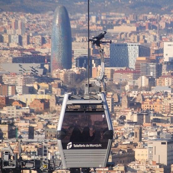 30 actividades que hacer si visitas Barcelona. Teleférico