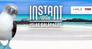 Gana un viaje a ISLAS GALÁPAGOS y muchos más premios #InstantWin