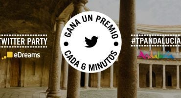 ¡Nueva Twitter Party, regalamos un premio cada 6 minutos! #TPAndalucía