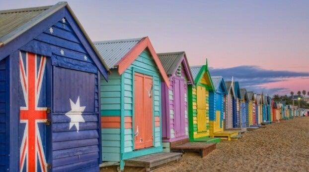 Los lugares más coloridos del mundo en Pinterest