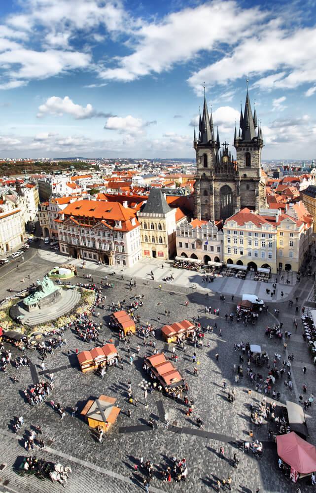 Old Town Square, Praga