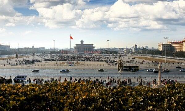 Plaza Tiananmen, Pekín