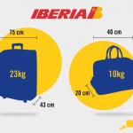 Consejos para preparar el equipaje de mano si vas a volar con Iberia
