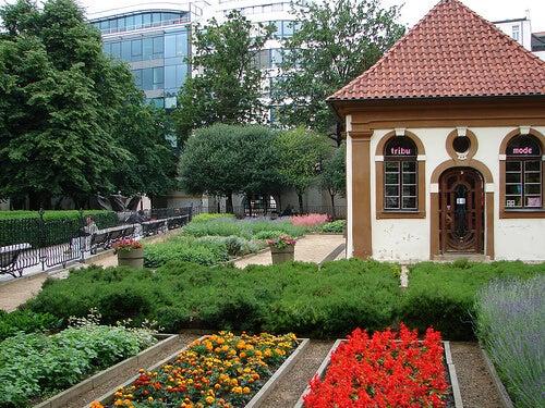 jardin franciscano, Praga