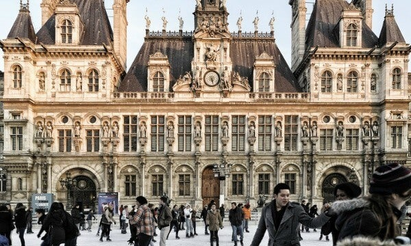 plaza Hotel de Ville, Paris