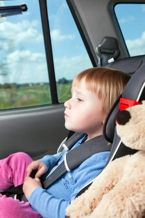 consejos viajar con niños en coche