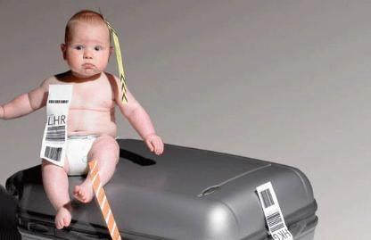consejos viajar bebe